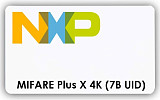 MIFARE Plus X 4K 7B UID